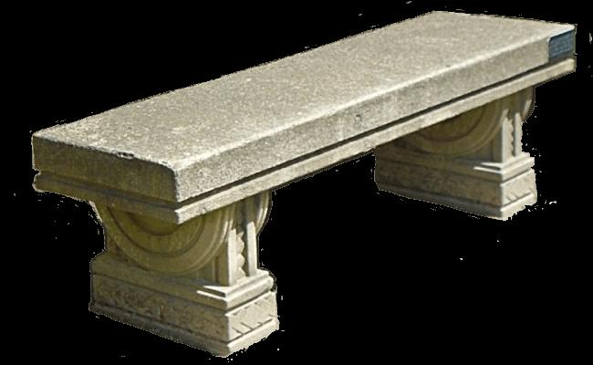 Tepidarium Steinbank